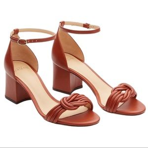 NWOB Alexandre Birman Vicky Knot Cocoa Sandal
